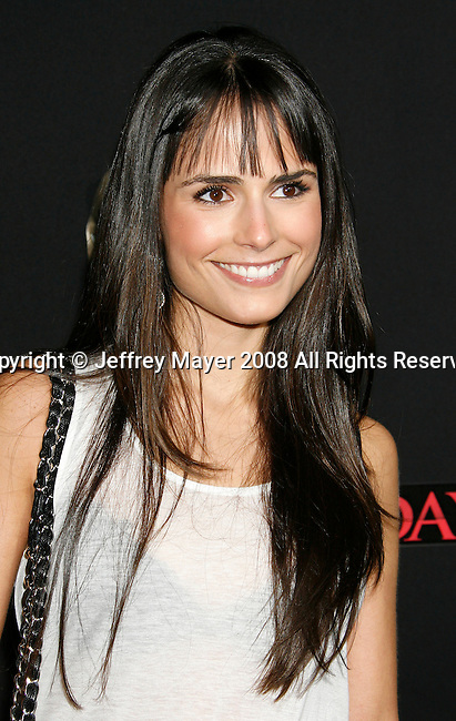 "HOLLYWOOD, CA. - February 09: Actress Jordana Brewster arrives at the Los Angeles premiere of ""Friday The 13th"" at Grauman's Chinese Theater on February 9, 2009 in Hollywood, California."