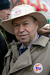 Dr. James Hansen at the Capitol Coal Action in Washington, D.C. - ©Robert vanWaarden ALL RIGHTS RESERVED