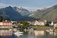 Pioneer Home, Sitka boat harbor, Sitka, Alaska