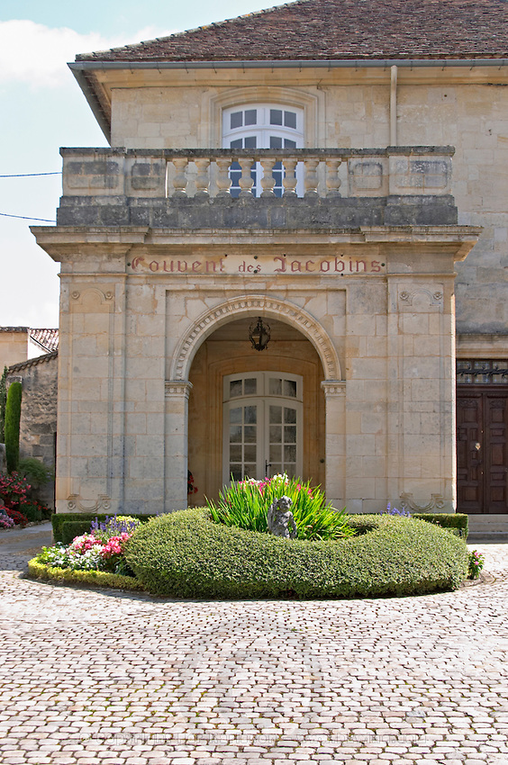 Chateau Couvent des Jacobins. Saint Emilion, Bordeaux, France