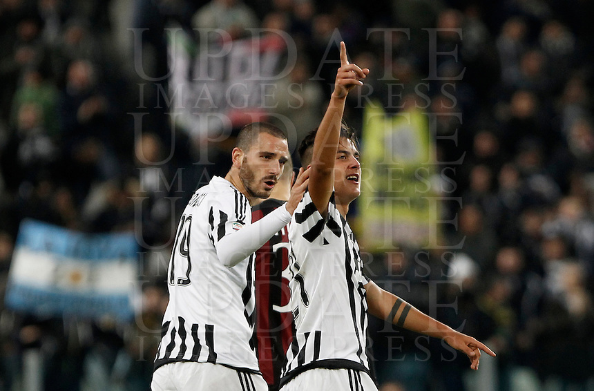 Calcio, Serie A: Juventus vs Milan. Torino, Juventus Stadium, 21 novembre 2015. <br /> during the Italian Serie A football match between Juventus and AC Milan at Turin's Juventus stadium, 21 November 2015.<br /> UPDATE IMAGES PRESS/Isabella Bonotto