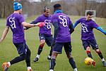 06.04.2018 Rangers training:<br /> Bruno Alves and Jason Holt
