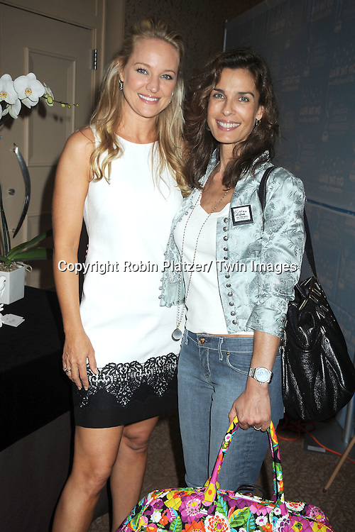 Sharon Case and Kristian Alfonso attends the Daytime Emmy Gift Suite on June 232, 2012 at the Beverly Hilton Hotel in Beverly Hills, California. Off thewallgifts.com set up the suite.