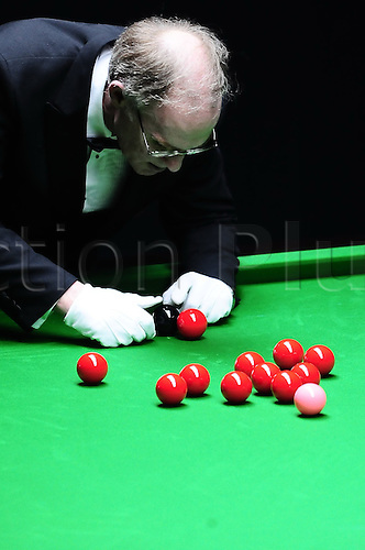 31.03.2011 Beijing, CHINA; Ali Carter defeats Marcus Campbell 5:3 in the second round at the 2011 World Snooker China Open.