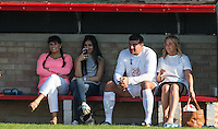 Tamer Hassan & family watch Taser Hassan in action during the 'Greatest Show on Turf' Celebrity Event - Once in a Blue Moon Events at the London Borough of Barking and Dagenham Stadium, London, England on 8 May 2016. Photo by Andy Rowland.