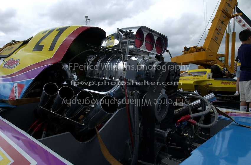 Blown engine: Nick Badolata, UL-21