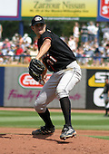 August 24, 2003:  Ryan Keefer of the Delmarva Shorebirds, Class-A affiliate of the Baltimore Orioles, during a South Atlantic League game at Classic Park in Eastlake, OH.  Photo by:  Mike Janes/Four Seam Images