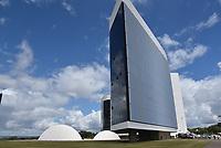 BRASÍLIA, DF, 04.04.2017 – JULGAMENTO-CHAPA DILMA/TEMER – O prédio do STE Brasília na manhã desta terça-feira, 04. (Foto: Ricardo Botelho/Brazil Photo Press)