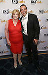 Faith Hope Consolo and Anthony Wilkinson attends the cocktail party for the Dramatists Guild Foundation 2018 dgf: gala at the Manhattan Center Ballroom on November 12, 2018 in New York City.