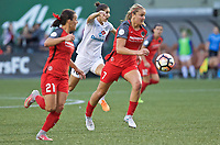 Portland, OR - Wednesday June 28, 2017: Lindsey Horan during a regular season National Women's Soccer League (NWSL) match between the Portland Thorns FC and FC Kansas City at Providence Park.