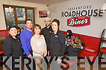 Owners and staff of the Roadside Diner in Farranfore, from left: Sinead Murphy, Nigel Brosnan, Margaret Brosnan, Claude Lanaspa and Mary Mahony.
