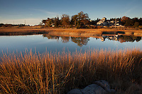 salt marsh, beach Rd., Cohasset, MA south shore