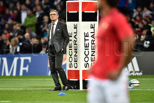 12.11.2016. Stadium Toulouse, Toulouse, France. Autumn International rugby match, France versus Samoa. Coach Guy Noves (fr)