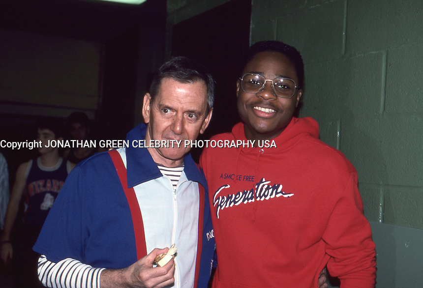 Tony Randall &amp; Malcolm Jamal Warner 1987<br />
