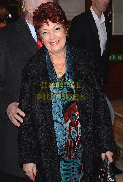 LONDON, ENGLAND - FEBRUARY 25: Ruth Madoc attends the &quot;The Full Monty&quot; press night, Noel Coward Theatre, St Martin's Lane, on Tuesday February 25, 2014 in London, England, UK.<br /> CAP/MB/PP<br /> &copy;Michael Ball/PP/Capital Pictures