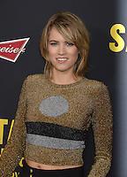 Cody Horn at the premiere of &quot;Sabotage&quot; at Regal Cinemas L.A. Live.<br /> March 19, 2014  Los Angeles, CA<br /> Picture: Paul Smith / Featureflash