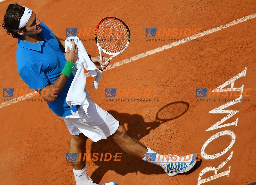 Roger Federer of Switzerland.Roma 16/05/2012 Foro Italico.Tennis Internazionali d'Italia.Foto Insidefoto Andrea Staccioli