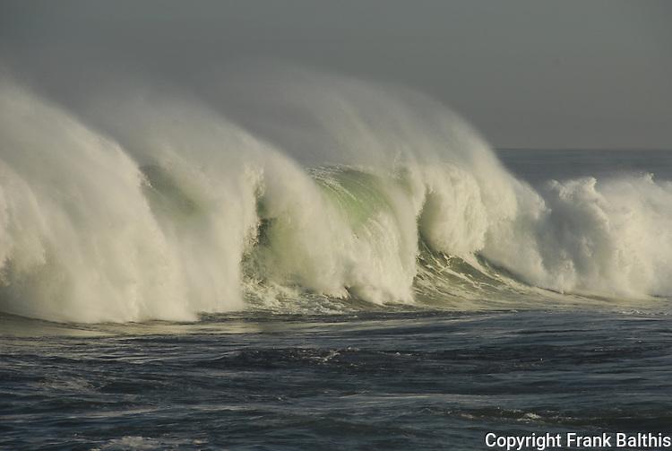 Wave crashing at Pacific Grove