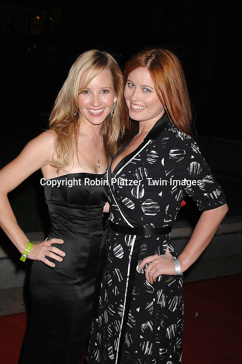 Justis Bolding and Melissa Archer..at The ABC Casino Night party on October 25, 2007 at ..Guastavinos in New York. ..Robin Platzer, Twin Images....212-935-0770