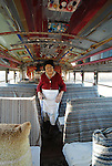 Passion is what drives my subjects and me. Reverend Dennis and his wife, Miss Margaret, for example are passionate about, religion, prayer, and equality, and spreading &ldquo;the word of God&rdquo;. What was once Margaret&rsquo;s Grocery Store is now a shrine to their beliefs and a sanctuary. They have created a church out of an old school bus on their property, that they both have lovingly decorated, adorned with recycled and reclaimed everyday items and for over a decade have welcome travelers from all over the world to share their beliefs and their creation. I stumbled upon &ldquo;The Castle&rdquo; and Rev. Dennis and Miss Margaret in the summer of 2000 and spent the next 10 years visiting and photographing them I was compelled and still am to share their story with future generation. They have both since passed away, Margaret first then Dennis a few years later at the age of 96.<br />