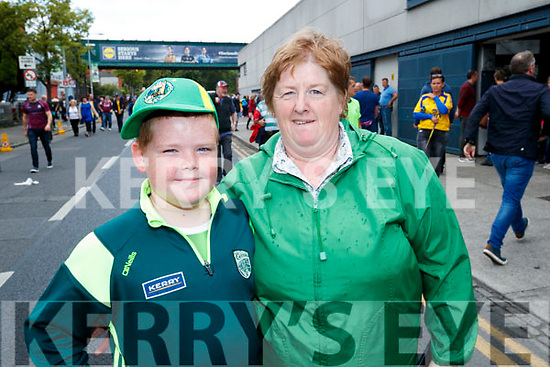 Kerry fans, Liam and Pauline Walsh, Ballylongford, enjoying the All Ireland SFC quarter final Kerry v Galway in Croke Park, Dublin on Sunday.