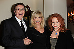 """LOS ANGELES - JAN 9: Bob Flick, Loni Anderson, Sondra Curry at The Actors Fund's """"In The Spotlight"""" Living Room Salon Series launch with special guest Sherry Lansing at a private estate on January 9, 2018 in Beverly Hills, CA"""