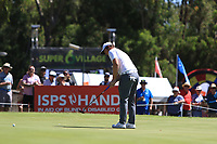Sam Horsfield (ENG) in action on the 6th during Round 2 Matchplay of the ISPS Handa World Super 6 Perth at Lake Karrinyup Country Club on the Sunday 11th February 2018.<br /> Picture:  Thos Caffrey / www.golffile.ie<br /> <br /> All photo usage must carry mandatory copyright credit (&copy; Golffile | Thos Caffrey)