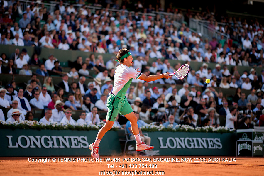DOMINIC THIEM (AUT)<br /> <br /> TENNIS - FRENCH OPEN - ROLAND GARROS - ATP - WTA - ITF - GRAND SLAM - CHAMPIONSHIPS - PARIS - FRANCE - 2017  <br /> <br /> <br /> <br /> &copy; TENNIS PHOTO NETWORK