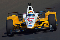 Verizon IndyCar Series<br /> Indianapolis 500 Practice<br /> Indianapolis Motor Speedway, Indianapolis, IN USA<br /> Tuesday 16 May 2017<br /> Oriol Servia, Rahal Letterman Lanigan Racing Honda<br /> World Copyright: F. Peirce Williams