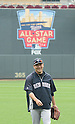 Masahiro Tanaka (Yankees),<br /> JULY 6, 2014 - MLB :<br /> Masahiro Tanaka of the New York Yankees during practice before the Major League Baseball game against the Minnesota Twins at Target Field in Minneapolis, Minnesota, United States. (Photo by AFLO)