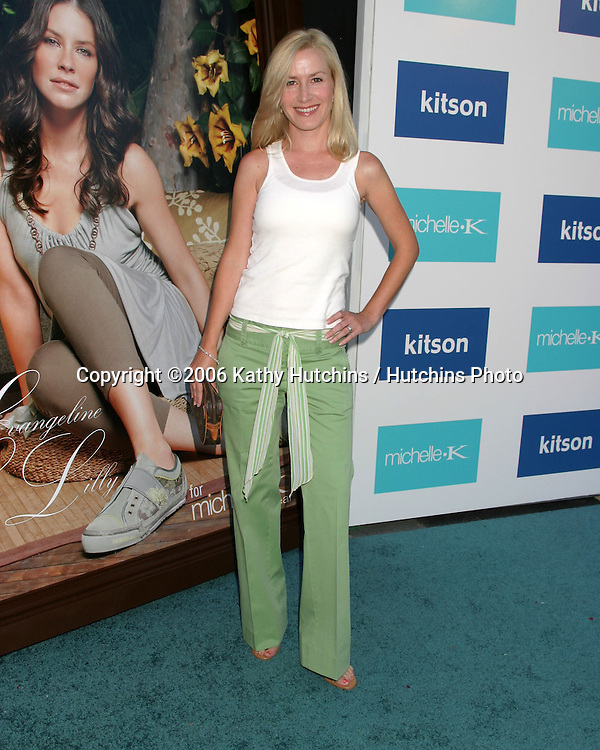 Angela Kinsey.Evangeline Lilly is celebrated as the New Face of Michelle K Footwear at a party at Kitson Boutique.W. Hollywood, CA.June 15, 2006.©2006 Kathy Hutchins / Hutchins Photo....
