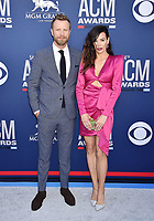 LAS VEGAS, CA - APRIL 07: Dierks Bentley (L) and Cassidy Black attend the 54th Academy Of Country Music Awards at MGM Grand Hotel &amp; Casino on April 07, 2019 in Las Vegas, Nevada.<br /> CAP/ROT/TM<br /> &copy;TM/ROT/Capital Pictures