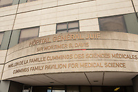 The Sir Mortimer B. Davis Jewish General Hospital is pictured in Montreal Wednesday November 19, 2014. The Jewish General Hospital (known officially as the Sir Mortimer B. Davis Jewish General Hospital since 1978) is an acute-care teaching hospital affiliated with McGill University.