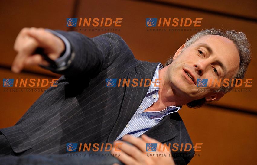 Il giornalista Marco Travaglio.Salone Internazionale del Libro di Torino.Torino, 17 / 05 / 2010.© Giorgio Perottino / Insidefoto .