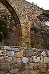 "An aquaduct in the ancient Hellenic city of Polyrinia, Crete. The place name means ""many sheep"" and it was the most fortified city in ancient Crete."