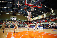 Section 1 Class AA Final:  Clarkstown South Vikings vs Mt Vernon Knights boys basketball at the Westchester County Center arena, White Plains, NY, Sunday, March 1, 2015.  Mt. Vernon defeated Clarkstown South by the score of 78 - 67.
