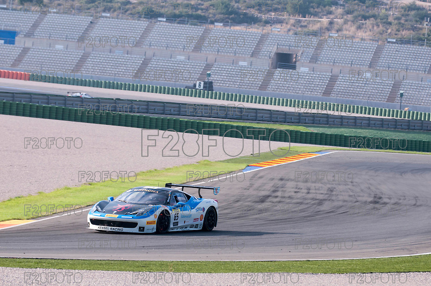 VALENCIA, SPAIN - OCTOBER 2: Alexis De Bernardi during Valencia Ferrari Challenge 2015 at Ricardo Tormo Circuit on October 2, 2015 in Valencia, Spain