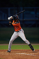 AZL Giants Orange Alexander Canario (14) at bat during an Arizona League game against the AZL Dodgers Mota on June 29, 2019 at Camelback Ranch in Glendale, Arizona. The AZL Giants Orange defeated the AZL Dodgers Mota 9-3. (Zachary Lucy/Four Seam Images)
