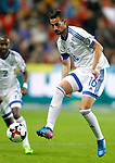 Israel's Daniel Einbinder during FIFA World Cup 2018 Qualifying Round match. March 24,2017.(ALTERPHOTOS/Acero)