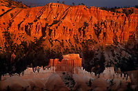730750014  hoodoos at sunset seen from sunset point in bryce canyon national park utah