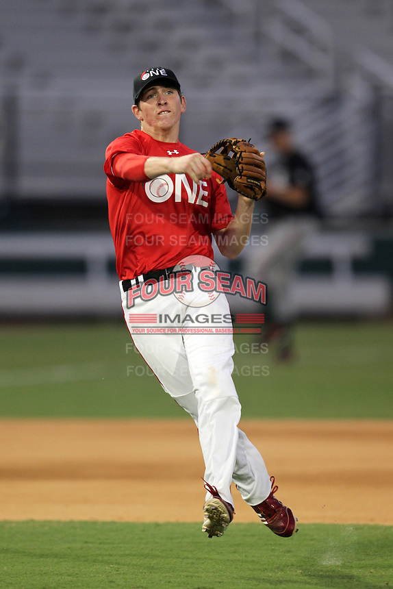 Danny Zardon during the Team One Futures Showcase East at Roger Dean Stadium on October 1, 2011 in Jupiter, Florida.  (Mike Janes/Four Seam Images)