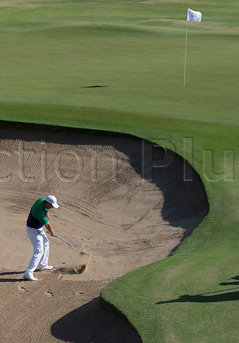 14.08.2016. Rio de Janeiro, Brazil.  Ireland's Padraig Harrington in action, Men's Individual Stroke Play Round 4 of the Golf events during the Rio 2016 Olympic Games at the Olympic Golf Course in Rio de Janeiro, Brazil, 14 August 2016.