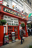 Foley's NY Irish Bar in Midtown in New York is seen on Wednesday, February 24, 2010. Foley's claim to fame is that it banned the singing of Danny Boy. In advance for St. Patrick's Day. (© Richard B. Levine)