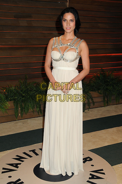 02 March 2014 - West Hollywood, California - Olivia Munn. 2014 Vanity Fair Oscar Party following the 86th Academy Awards held at Sunset Plaza. <br /> CAP/ADM/BP<br /> &copy;Byron Purvis/AdMedia/Capital Pictures