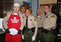 LOS ANGELES, CA - NOVEMBER 27: Los Angeles Sheriff Alex Villanueva, at Los Angeles Mission Thanksgiving For The Homeless at Los Angeles Mission in Los Angeles, California on November 27, 2019. <br /> CAP/MPIFS<br /> ©MPIFS/Capital Pictures