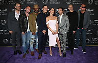 "BEVELY HILLS, CA - March 29: Paul Adelstein, Robert Knepper, Rockmond Dunbar, Augustus Prew, Inbar Lavi, Mark Feuerstein, Wentworth Miller, Dominic Purcell, At 2017 PaleyLive LA Spring Season - ""Prison Break"" At The Paley Center for Media  In California on March 29, 2017. Credit: FS/MediaPunch"