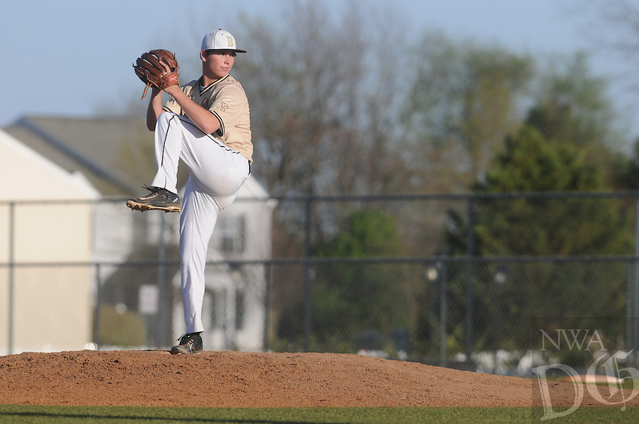 NWA Democrat-Gazette/J.T. WAMPLER Image from Bentonville's 5-1 loss to Fort Smith Southside Monday April 4, 2016.