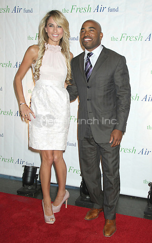 May 31, 2012 Traci Lynn Johnson and Tiki Barber at the 2012 Fresh Air Fund Spring Benefit: Salute To American Heroes. Pier Sixty at Chelsea Piers in New York City. © RW/MediaPunch Inc.