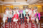 CAPTAINS DAY: The member's of the Ballybeggan Ladies Golf Society at their Captain's Day dinner at the Meadowlands hotel, Tralee on Saturday.