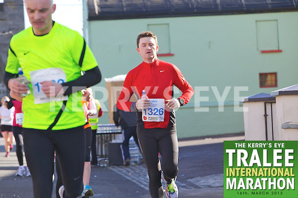 1326 Kieran Kelliher who took part in the Kerry's Eye, Tralee International Marathon on Saturday March 16th 2013.